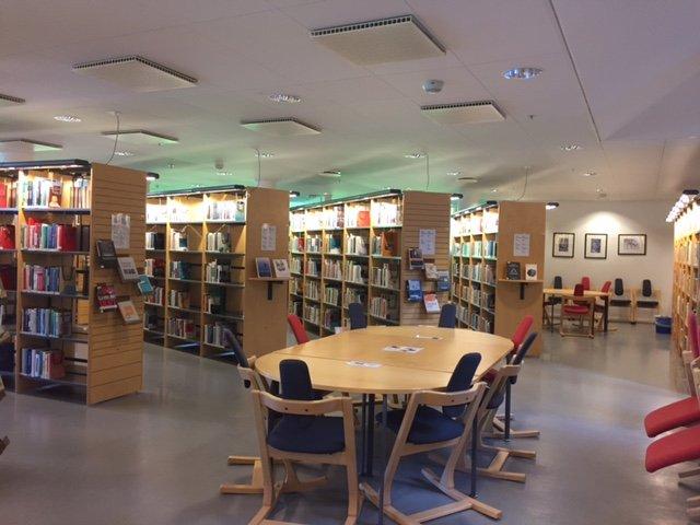 sala biblioteca Volda