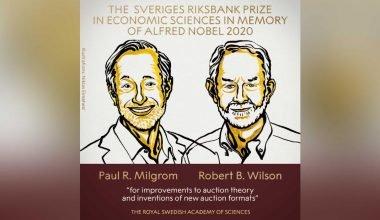 Nobel de Economía 2020 para Paul Milgrom y Robert Wilson