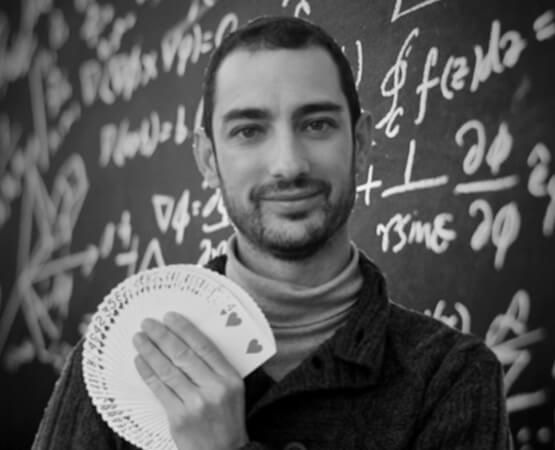 """Sergio Belmonte, """"Magia y Matemáticas: un binomio posible"""""""