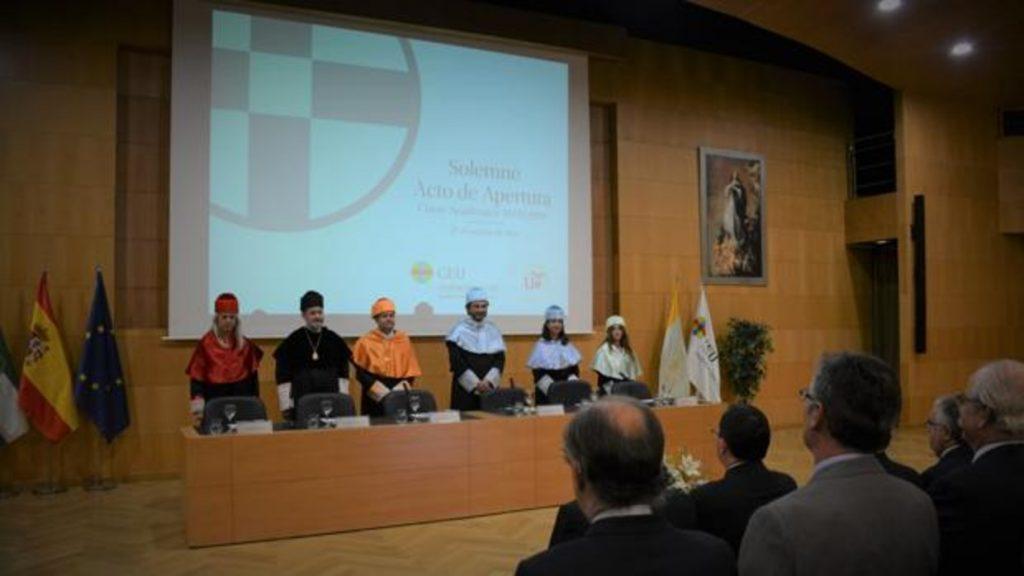 Inauguración del Curso en el Centro de Estudios Universitarios CEU Cardenal Spínola