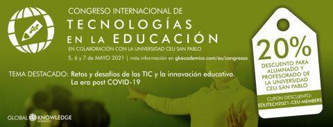 V Congreso Internacional de Tecnologías en la Educación- GKA EDUTECH 2021