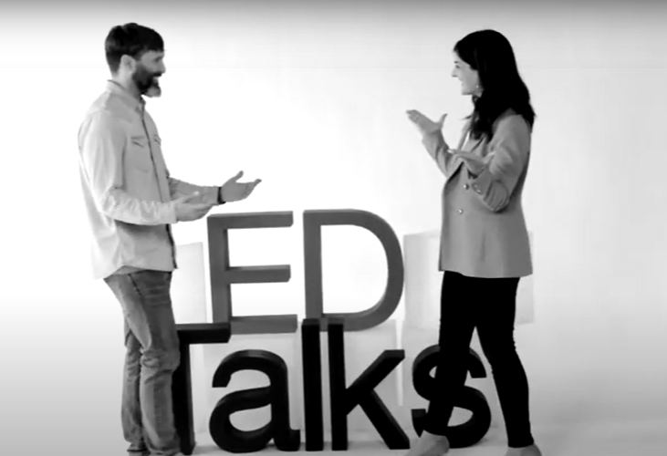 Education Talks: Chema Lázaro y Marta Oporto