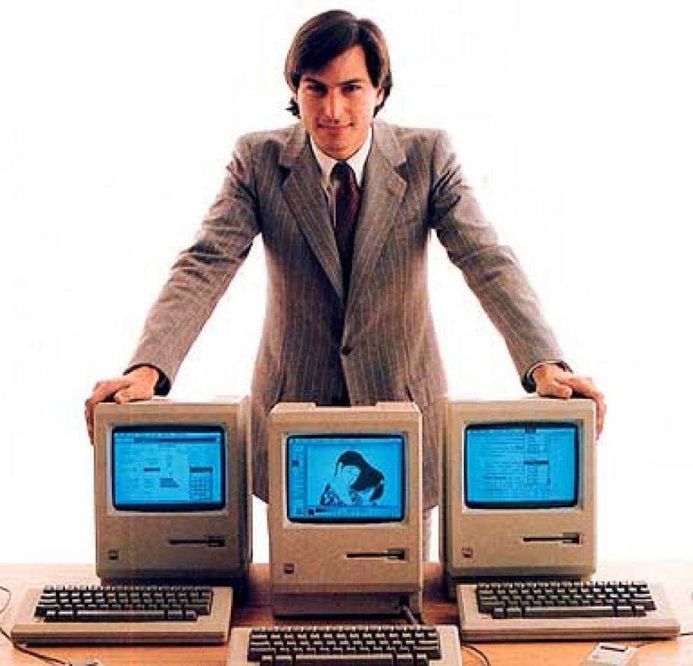 Steve Jobs y la Macintosh