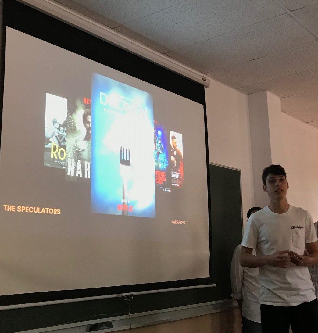 Uno de tantos proyectos que presentaron el equipo de Diogo, Joan, Nacho y José Benito en las sesiones de Redacción Publicitaria en Publicidad y RRPP