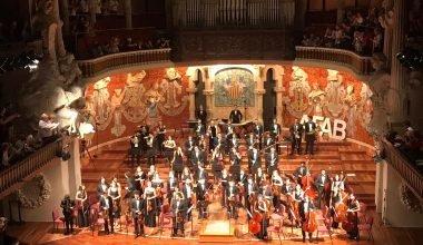 Concert solidari al Palau de la Música