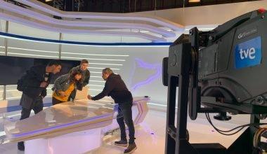 Los alumnos de Postproducción visitan las instalaciones de TVE-Catalunya en Sant Cugat