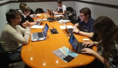 Los futuros periodistas de la UAO CEU cubren el Drac Novell