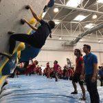 Campeonato de escalada en bloque en los CCU´19