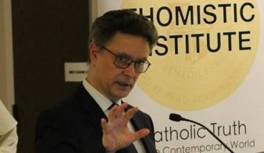 Conferencia en el Thomistic Institute de Washington sobre persona y verdad