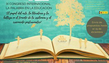 """Próximamente: IX Congreso Internacional """"La Palabra en la Educación"""""""